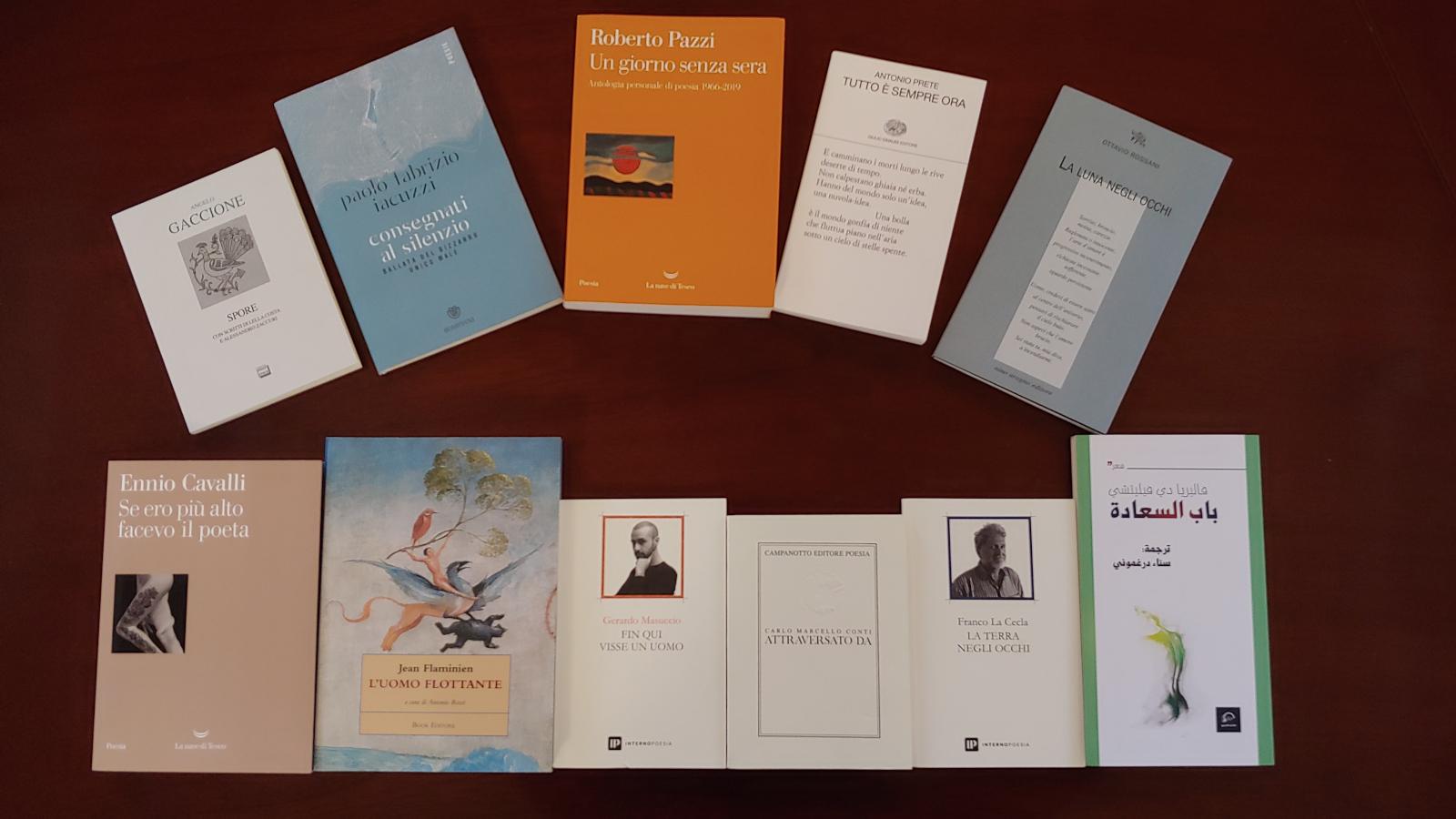 Designata la rosa dei 5 libri finalisti del Premio Letterario Camaiore – Francesco Belluomini