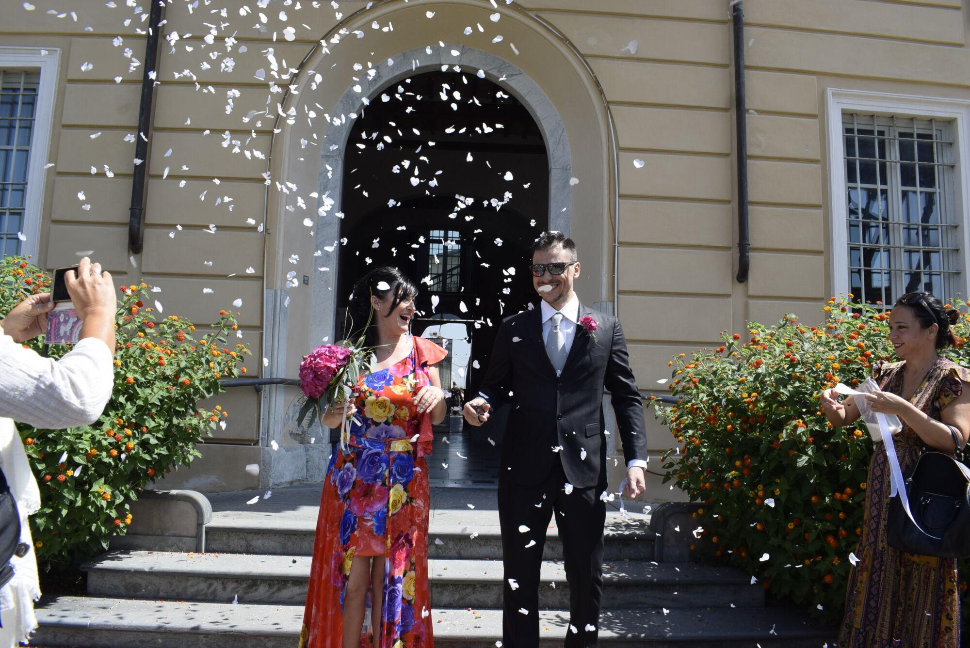Tanti auguri a Lucia e Francesco, oggi sposi