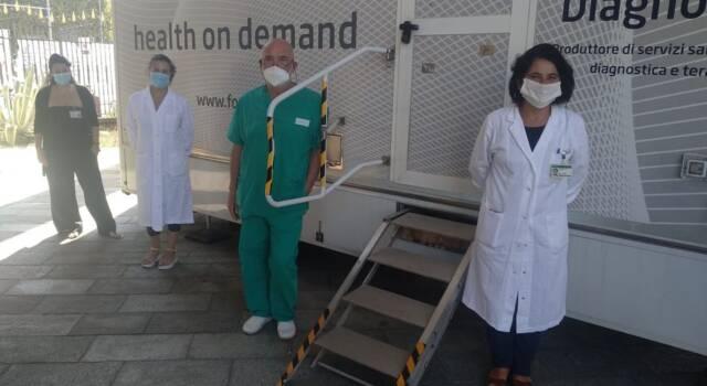 Screening mammografico a Livorno, l'unità mobile garantisce 200 esami in più  settimana