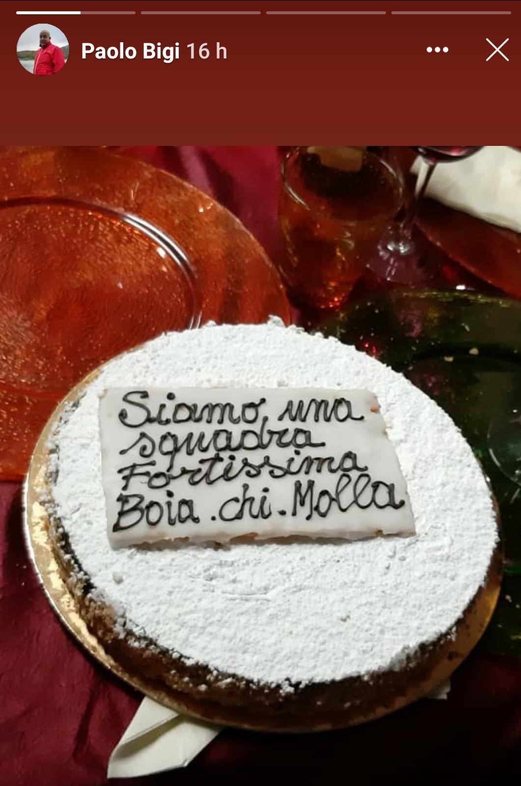 """""""Boia chi molla"""" sulla torta di un consigliere della Lega, Progetto Pietrasanta 2023: """"Il fascismo è reato"""""""
