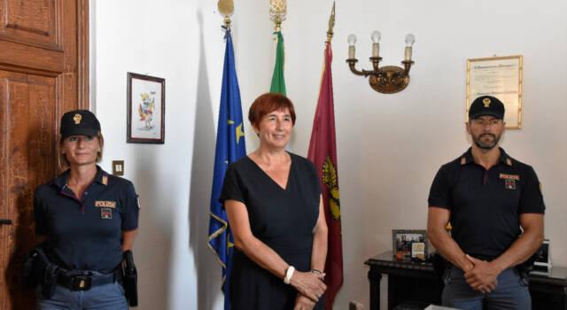 Il Sindaco Alessandro Del Dotto ha incontrato questa mattina la nuova Questore della Provincia di Lucca Dottoressa Alessandra Faranda Cordella