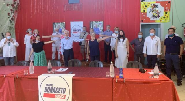 Presentata la lista di Sandro Bonaceto sindaco