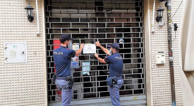 Alcol, liti e disturbo alla quiete pubblica: la Polizia chiude un bar a Viareggio