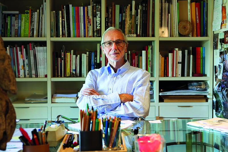 """Al Caffè de La Versiliana il """"Premio Speciale LericiPea"""" all'Arch. Renzo Piano"""