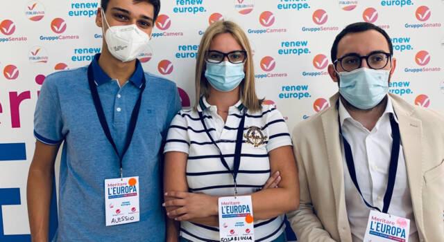 """I giovani viareggini di Italia Viva alla scuola """"Meritare l'Europa"""""""