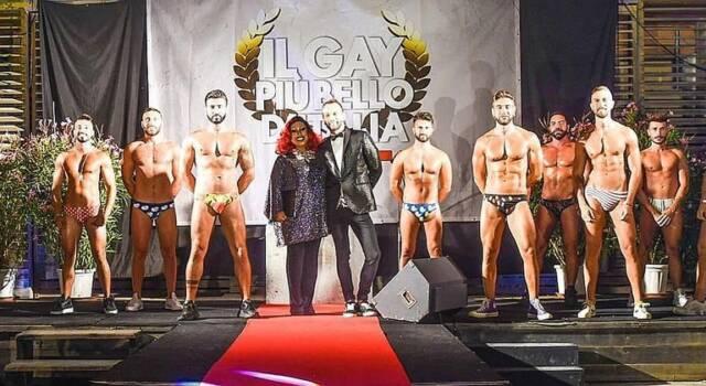 Dopo la bufera mediatica Antonio Veneziani confermato il Gay più bello d'Italia