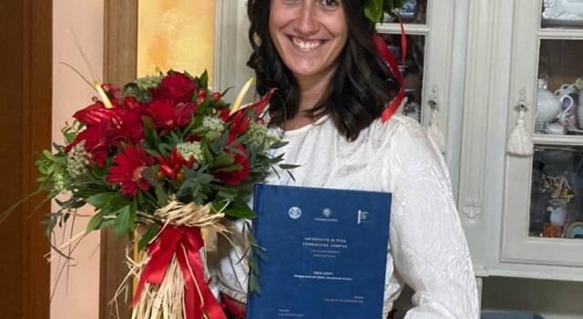 """"""" Viareggio perla del Liberty, una proposta turistica"""", Claudia Bergamini si laurea a Pisa"""