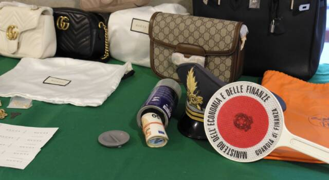Falsi in pelle venduti in negozi di lusso, 7 arresti e sequestro di 5 milioni di euro