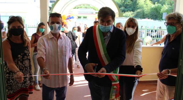 Inaugurato il nuovo Asilo Scubidù con un teatro all'aperto nel nuovo giardino