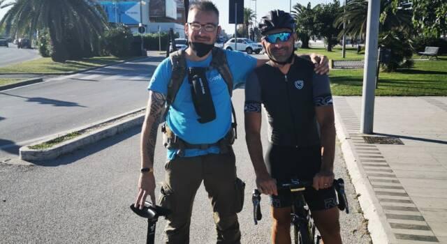 """La ciclopista Versilia prima al mondo """"mappata"""" in alta risoluzione"""