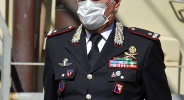 Il generale Masciulli a Lucca, riconoscimenti ai militari che si sono distinti nel 2019