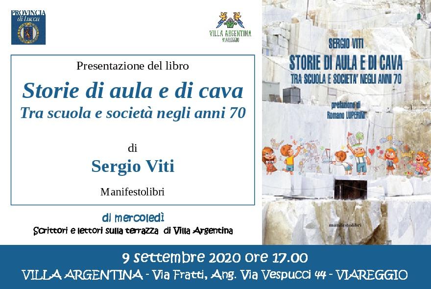 A Villa Argentina si presenta il libro di Sergio Viti