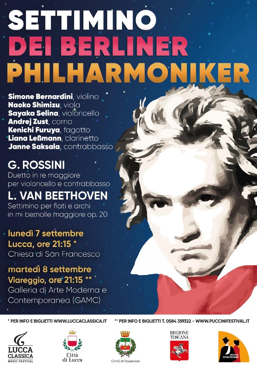 Lucca Classica e Fondazione Festival Pucciniano insieme per un concerto dedicato a Beethoven: 8 settembre a VIAREGGIO presso la GAMC