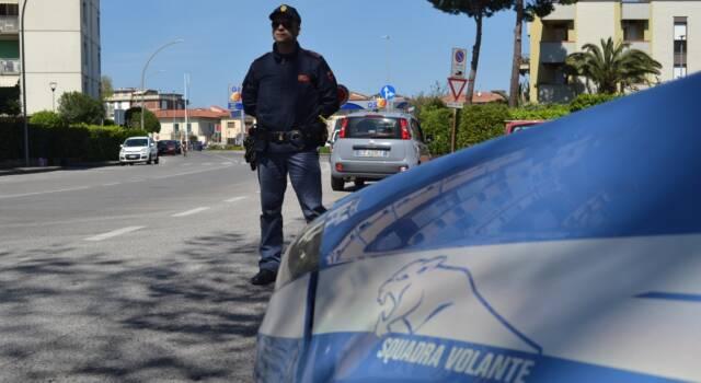 Sospettato di furto a Viareggio, un arresto