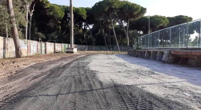 Stadio dei Pini, demolita la gradinata: al via progetto e gara per la ricostruzione