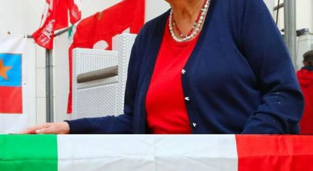 Memoria: il cordoglio della comunità di Seravezza per la scomparsa di Carla Nespolo, presidente nazionale dell'Anpi
