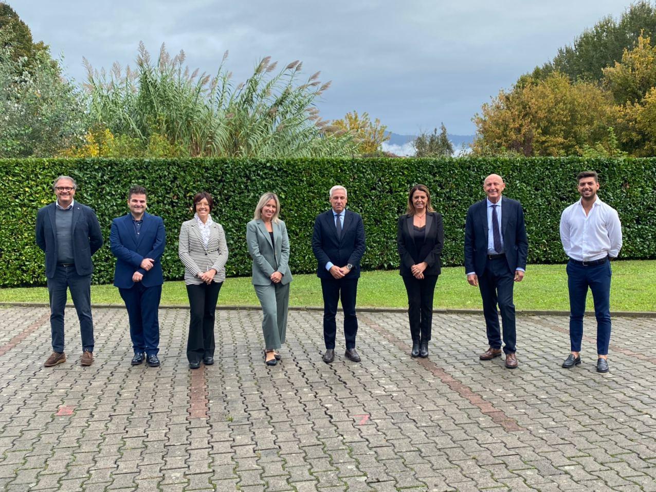 Il sindaco Giorgio Del Ghingaro ha nominato la giunta: sette assessori, quattro uomini e tre donne