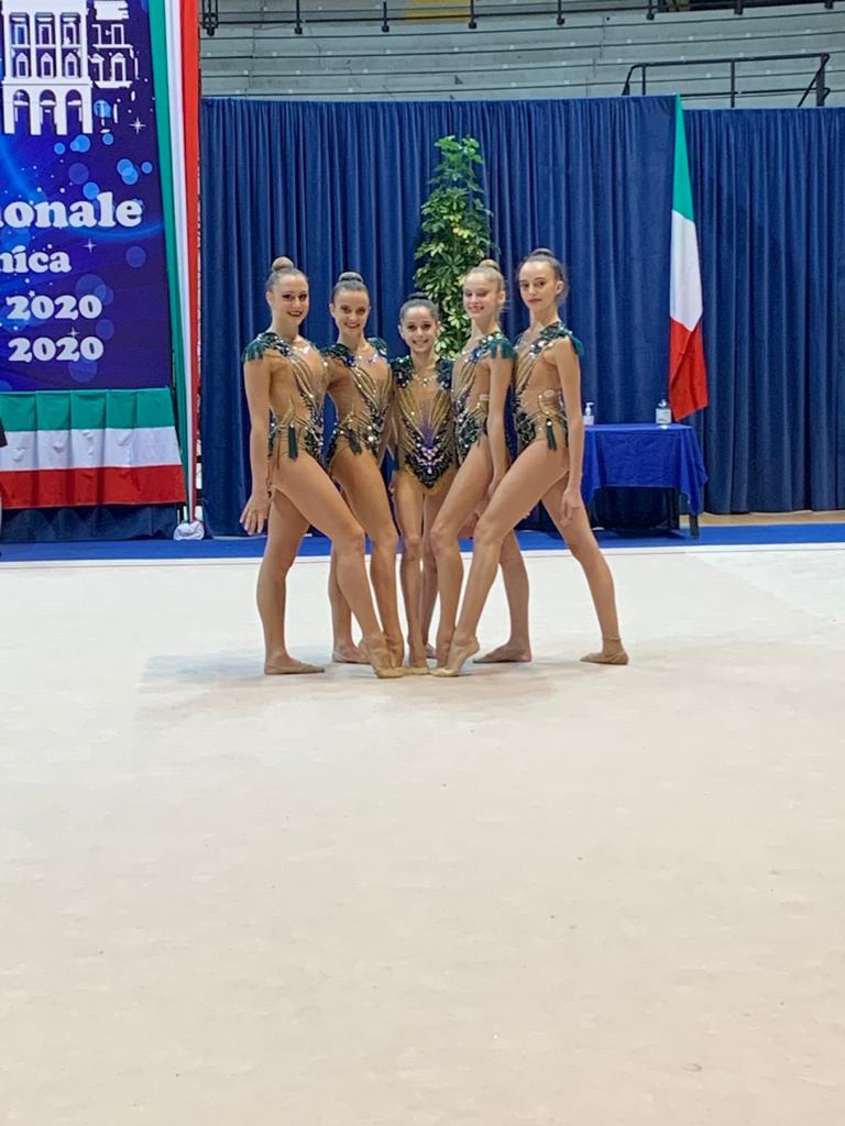Sei medaglie per la Motto ai campionati italiani di Specialità di ginnastica ritmica di Foligno