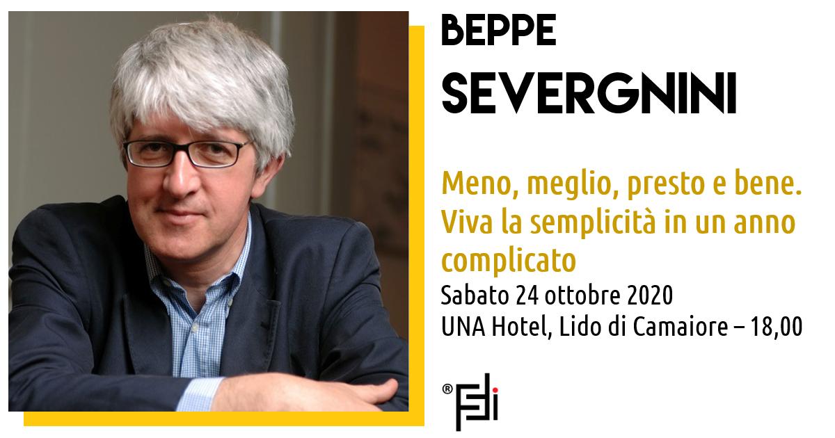 Beppe Severgnini al Forum Internazionale della Formazione