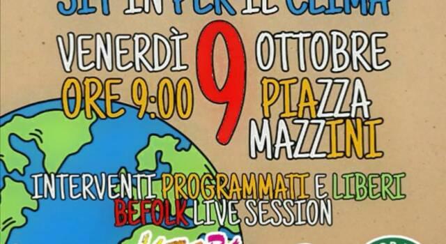 Sciopero per il clima il 9 ottobre: appuntamento in piazza Mazzini a Viareggio