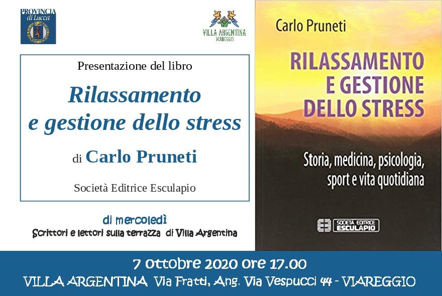 A Villa Argentina il libro di Carlo Pruneti