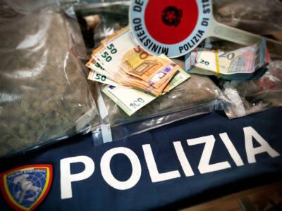 Droga, blitz della polizia nella centrale dello spaccio. Sequestrato anche un locale