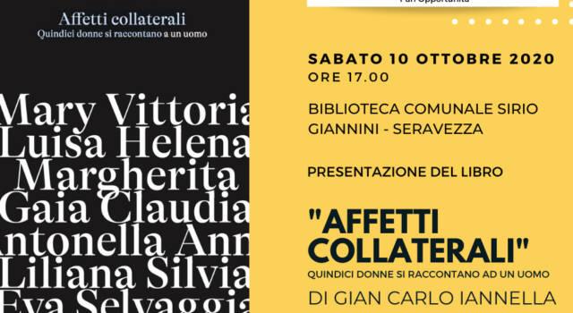 """A Palazzo Mediceo si presenta il libro """"Affetti collaterali"""" di Gian-Carlo Iannella"""
