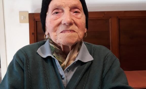 Si è spenta Delfa Manfredi, aveva compiuto 100 anni ad aprile