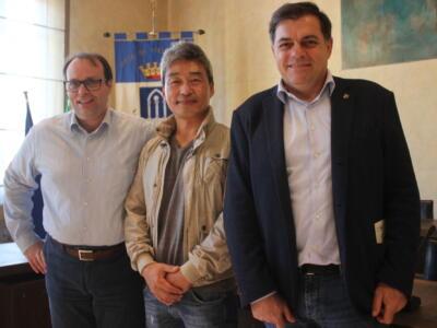 Park Eun Sun sarà cittadino onorario, artista coreano entra nella storia Pietrasanta insieme a Botero e Mitoraj