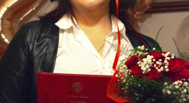 Complimenti alla neolaureata Linda Trogi