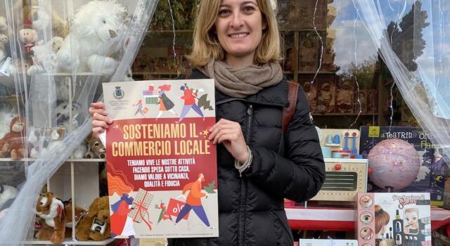 Seravezza, campagna per sostenere il commercio locale
