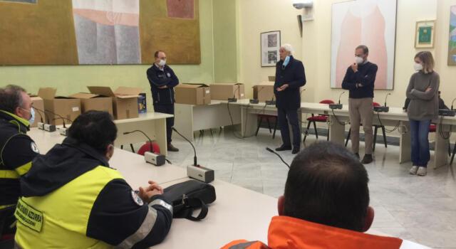 Protezione civile: gli elogi e i ringraziamenti dell'Amministrazione comunale ai volontari in occasione delle feste