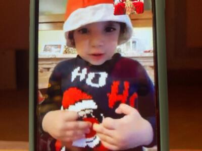 Oltre 700 bambini in videocall con Babbo Natale