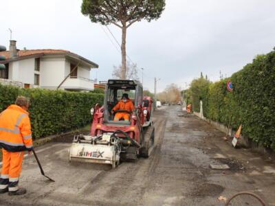 Sicurezza sulle strade, lavori in corso per i nuovi asfalti a Fiumetto