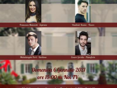 """Villa Bertelli presenta """"L'Epifania con NOI"""", concerto lirico su NoiTV"""