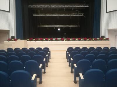 Tutto pronto per l'inaugurazione del nuovo Teatro Cinema Comunale di Pietrasanta