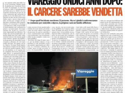 """La Lega all'attacco del Riformista: """"Parole gravi che offendono Viareggio e la Giustizia"""""""