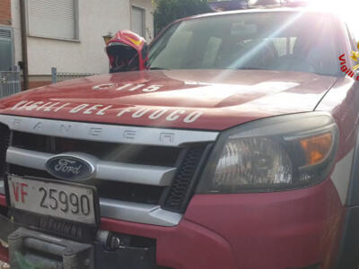 Incendio in casa a Strettoia, nessun ferito