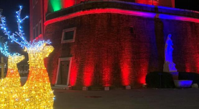Natale al Forte 2020: la scelta dell'Amministrazione di mantenere la tradizione delle luci da favola