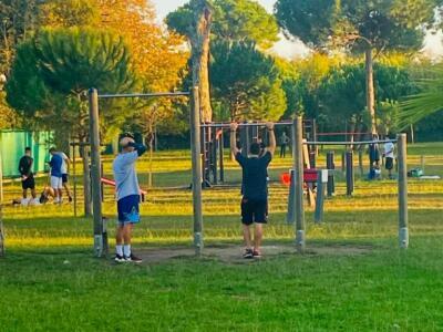Si amplia il parco fitness di via Raffaelli