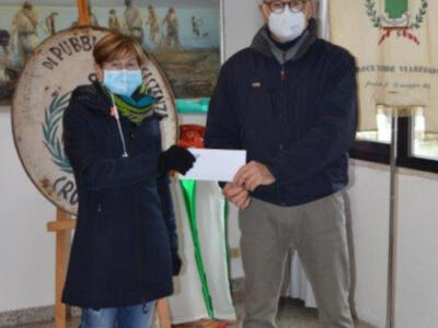 Dal circolo di pesca una donazione alla Croce Verde
