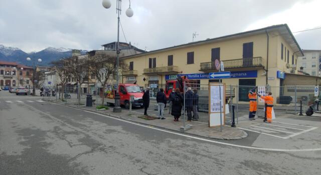 Camaiore, al via i lavori in piazza XXIX Maggio