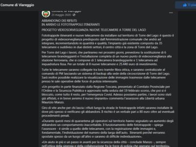 """Videosorveglianza, Lega: """"In oltre 5 anni dall'Amministrazione pochi risultati"""""""