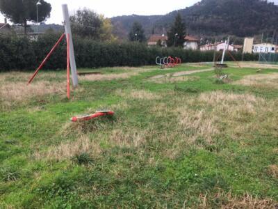 Degrado nel parco Arcobaleno, la denuncia dei consiglieri Pd