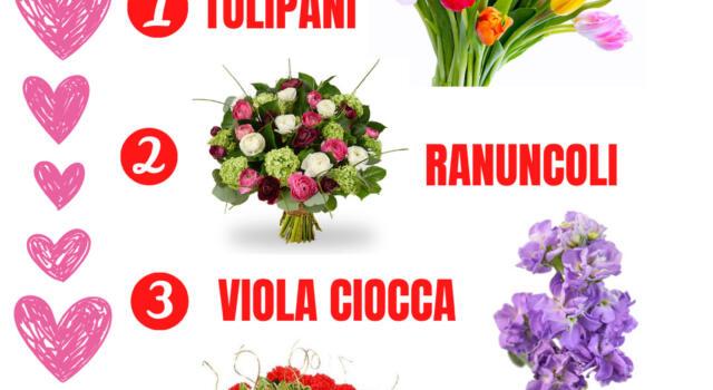 San Valentino: ecco la classifica dei fiori salva Made in Versilia