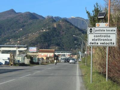 Punti di rilevamento fisso della velocità (60 km/h) in via Provinciale Vallecchia