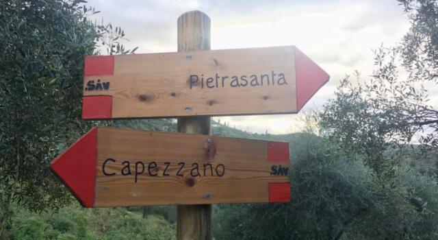 Il comune rilancia dodici sentieri collinari, Pietrasanta punta sulle attività all'aria aperta