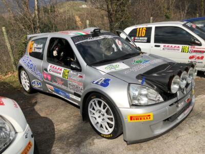 Lorenzo Bonuccelli e Mirko Luisotti al Rally di Carnevale