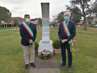 Protezione Civile: omaggio ai piloti Stefano Bandini e Claudio Rosseti