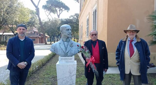Cerimonia in Versiliana per il compleanno di Gabriele D'Annunzio
